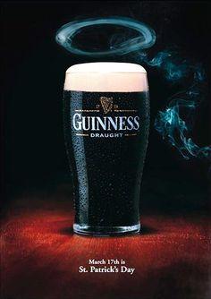 No podíamos dejar pasar este día sin hacer una refencia al St. Patricks Day.  Como cualquier día relevante en el calendario las marcas aprovechan para ganar protagonismo. En el caso que nos ocupa hoy, y muy de la mano con la festividad que se celebra sobre todo entre los irlandeses, #Guinness ha vuelto hacer una gran trabajo ;)  #StPatricksDay #BlackBeer #Ireland