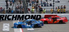 Why 1 NASCAR driver was fuming despite winning $100K in Saturday's race  -  April 30, 2017:        Kyle Larson took the lead with only a handful of laps to go when race leader Ty Dillon jumped a restart and won the NASCAR Xfinity race in overtime at Richmond International Raceway on Saturday.