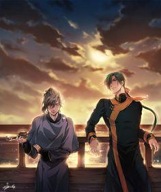 Yona of the Dawn/Akatsuki no Yona- Jae-ha and Captain Gi-gan