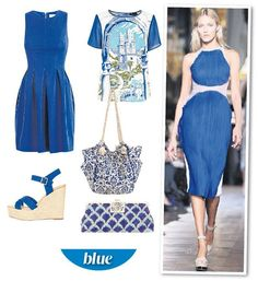 blue fashion trend 2013 | Catwalk to high street: Summer's fashion trends at affordable prices ...