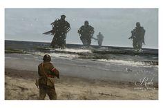 """Westerplatte"" by Jakub 'Mr. Werewolf' Rozalski - Fine Art Print"
