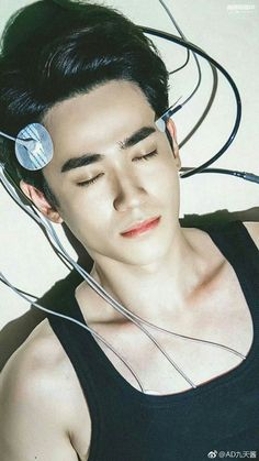 Where's his necklace ? Shen Wei, Asian Photography, Emotional Rollercoaster, Gray Aesthetic, Ange Demon, Asian Love, Fantasy Landscape, Korean Celebrities, Asian Actors