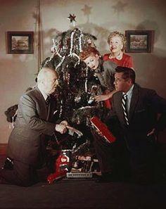 Publicity Christmas photo (1953).