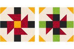 Baton Rouge Square Quilt Block Pattern