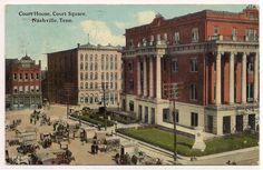 1912 NASHVILLE TENNESSEE TN DAVIDSON COUNTY POSTCARD