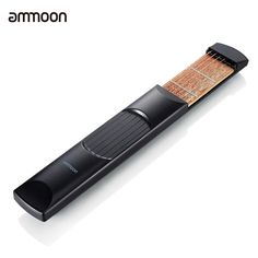 ammoon Portable Pocket Acoustic Guitar Practice Tool Gadget Chord Trainer 6 String 6 Fret Model for Beginner. 6 String 6 Fret, great tool for training and improving your guitar skills. Compact size, portable and lightweight, available for you to practice anywhere. Made of high-quality materials, durable and sturdy. Comes with a carrying bag for convenient carry and storage. An ideal guitar practice tool for beginners.