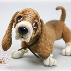 Cute crochet animal