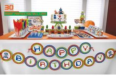 30 Robot Birthday Parties You Will Love - Spaceships and Laser Beams