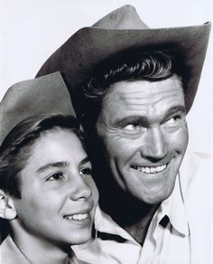 The Rifleman: Johnny Crawford and Chuck Connors