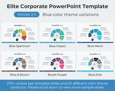 Company Presentation, Presentation Slides, Business Presentation, Professional Powerpoint Templates, Ppt Template, Corporate Business, Color Themes