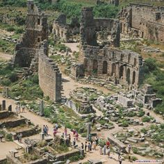 Lycia Perge, Antalya Turkey http://www.turkish-property-world.com/side-guide-turkey.php