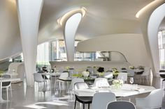 2014 Restaurant & Bar Design Award Restaurant/Bar in Another Space: The Magazine (London) / Zaha Hadid Architects