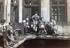 1958. Gang a Rottenbiller utcában.
