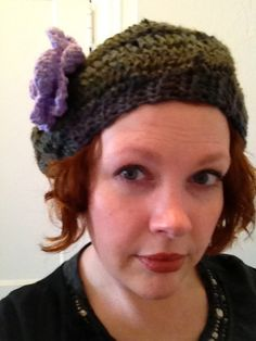 Another great hat from Lynn. Birthday gift.