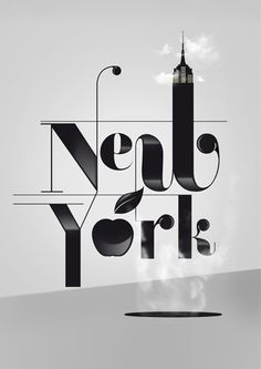 Creatively Designed Typographic Posters Of NYC & Other Cities