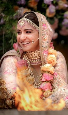 Anushka Sharma as bride