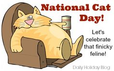 National Cat Day--October 29th