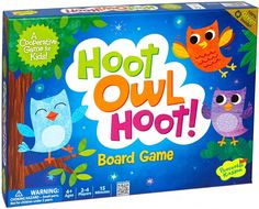 Amazon.com: Peaceable Kingdom / Hoot Owl Hoot! Award Winning Cooperative Game for Kids: Toys & Games