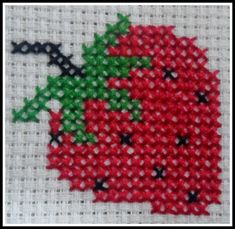 Mutfak Easy Cross Stitch, Cross Stitch Fruit, Cross Stitch Kitchen, Cross Stitch Cards, Cross Stitch Flowers, Cross Stitch Embroidery, Cross Stitching, Le Point, Funny Cross Stitch Patterns