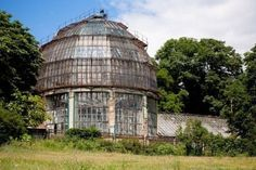 Old Glass Greenhouse. So lovely, they don't make 'em like they used to