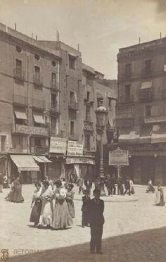 1909 Plaça de l'Angel