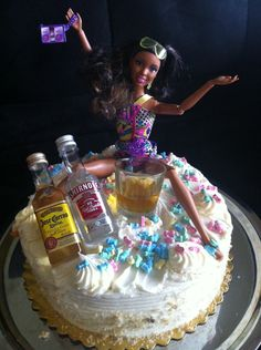 Bachelorette Cake @Allison j.d.m Henry u shall be responsible for making this happen.....K?