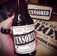 Cervecería: Lagunitas Cerveza: Censored Estilo: Rich Copper Ale Familia: Ale [TBBnota de Cata] Ojos: Naríz: Boca: Maridaje: Servicio:
