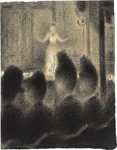 Georges Seurat - Atmosphere and crazy hair