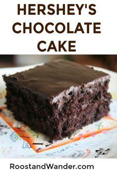 The very best Chocolate Cake! #recipe #cake #chocolate