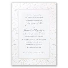 Pure Romance - Invitation David's Bridal  125/73.48 w/purch R&R