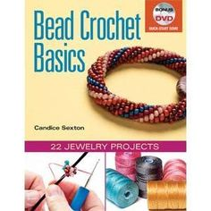 In Bead Crochet Basics, Candice Sexton takes the guesswork out of the trickiest part of bead crochet: starting the tube. Beaders can use the quick-start DVD to see the setup in action, then progress t                                                                                                                                                                                 More