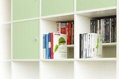 Buch und DVD Einsatz für Ikea Kallax Regal (weiß, Breite 336 mm): Amazon.de: Küche & Haushalt