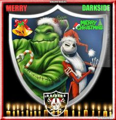 Merry Christmas the darkside.