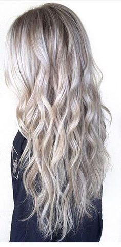 Silver blonde hairstyles, silver hair color