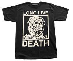 Long Live Death // Tee // Black | ACTUAL PAIN