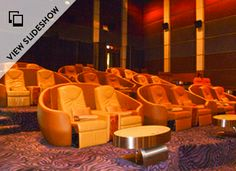 Cinema Paradiso: Nokia Ultra @ The Paragon Cineplex, Bangkok, Thailand. ...Motorized reclining seats, complimentary preshow drinks AND a free foot massage with your ticket purchase! Oh hells yes!