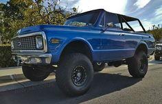 First Gen Blazer. Gm Trucks, Cool Trucks, Chevy Trucks, Chevy Blazer K5, K5 Blazer, Gen 1, Land Cruiser, 4x4, Motorcycles