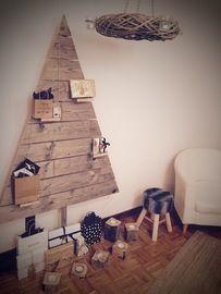 Woody Christmas tree