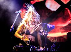 Ellie Goulding performs at Bacardi Triangle at El Conquistador Resort's private Palomino Island in Puerto Rico.