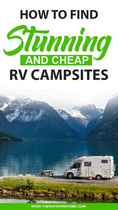 Finding stunning RV campsites is one of the many joys of traveling full time in an RV.There are so many options and types of RV parks and camping out there, that you'll be able to take your pick. Rv Camping Tips, Van Camping, Family Camping, Camping Ideas, Rv Travel, Travel Chic, Cheap Travel, Travel Tips, Cheap Rv Living