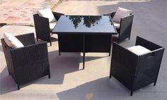 Garden Furniture Cube Set Rattan 4 Seater Outdoor Dining Table Chair HL-5S-15007  http://enjoygroup.en.alibaba.com/product/60233387327-209347042/Garden_Furniture_Cube_Set_Rattan_4_Seater_Outdoor_Dining_Table_Chair_HL_5S_15007.html