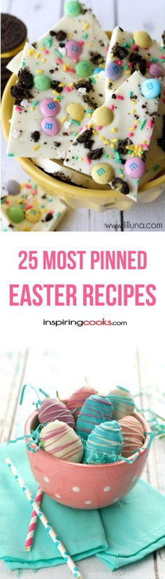 The 25 Most Pinned Easter Recipes