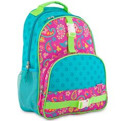 With all of the features of an adult pack in a kid-sized package, this backpack will have your child ready for their next step in school. From Stephen Joseph. From Stephen Joseph. Colorful Backpacks, Kids Backpacks, School Backpacks, Pretty Backpacks, Backpack Online, Laptop Backpack, Personalized Backpack, Backpack Reviews, Toddler Preschool