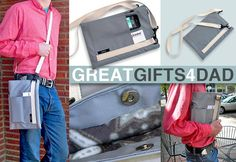 says it's for Dad...but an iPad sleeve with removable strap sounds snifty for about anybody  #tutorial