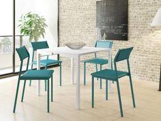 Conjunto de Mesa com 4 Cadeiras Móveis Carraro - Aquarela-de R$ 1.950,00 por R$ 1.099,99   em até 10x de R$ 110,00 sem juros no cartão de crédito  ou R$ 1.044,99 à vista (5% Desc. já calculado.)