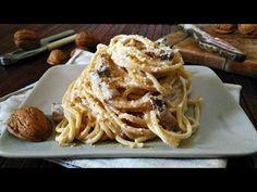 Spaghetti alla crema di noci e pancetta - Rita's Kitchen