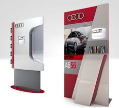 Point of Purchase Design | POP Design | Automotive POP |  by Marco Velasco at Coroflot.com