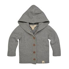 """Product review for Burt's Bees Baby Baby Organic Sweater Knit Cardigan.  This warm 100 percent organic cotton sweater knit cardigan is perfect for cold weather cuddles features include contrast knitted racing stripes and a playful button down style closure with sustainable coconut buttons.       Famous Words of Inspiration...""""For there is one..."""