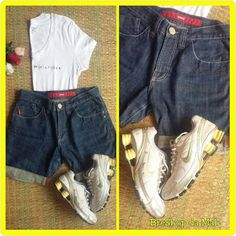 BreShop da Mah: Nike Shox + Bermuda Iódice + T-shirt Tommy Hilfige...