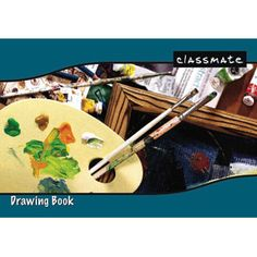 Classmate Drawing Book With Soft Cover: Pgs 36 — Teach your children the importance of art and creativity with this Drawing Book for Kids. Centre Stapled for easy handling and wider space to draw and paint.